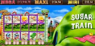 Sugar Train Jackpot Slot Gameplay