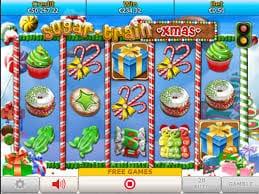 Sugar Train Xmas Jackpot Slot Gameplay