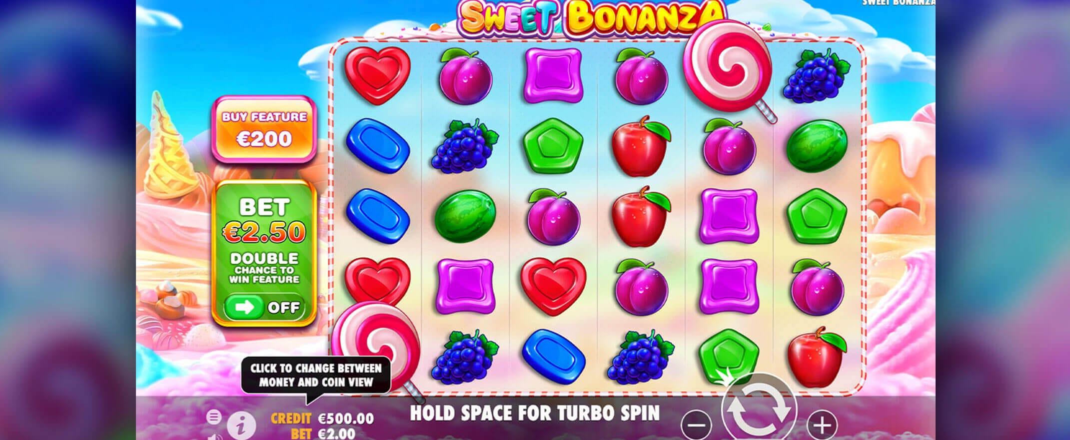 Sweet Bonanza Slot Gameplay