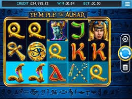 Temple of Ausar Jackpot Slot Gameplay