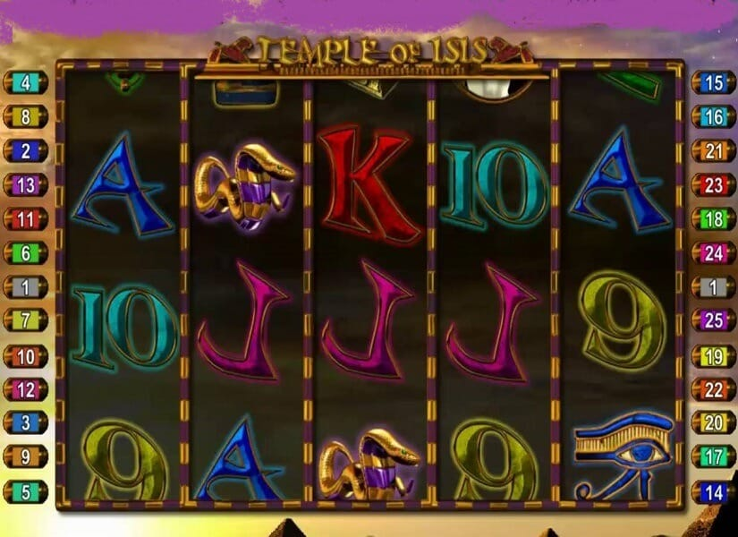Temple of Iris Jackpot Slot Bonus