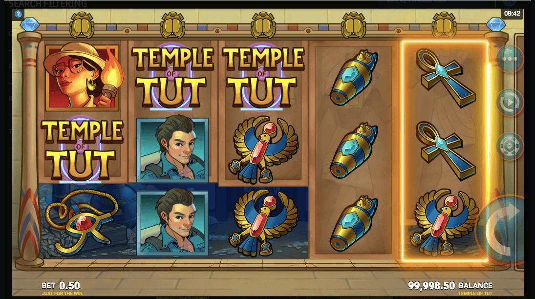 Temple of Tut Slot Bonus