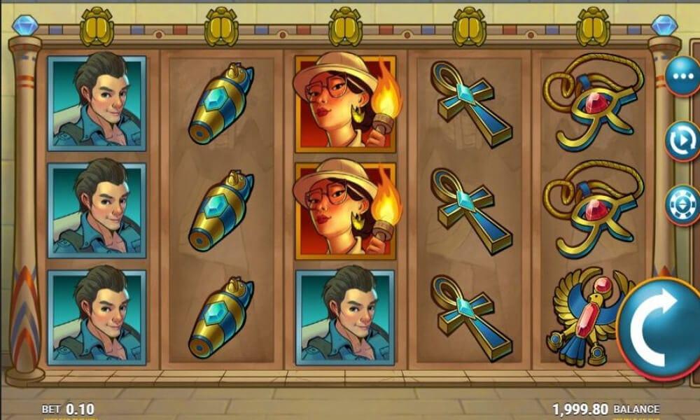 Temple of Tut Slot Gameplay