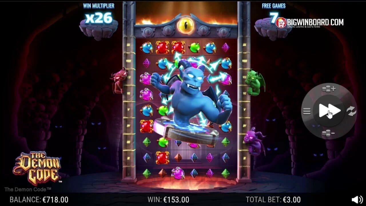 The Demon Code Slot Gameplay