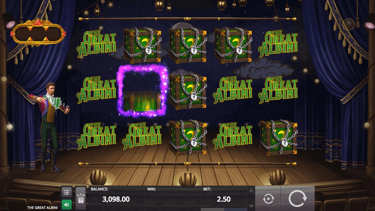 The Great Albini Slot Bonus