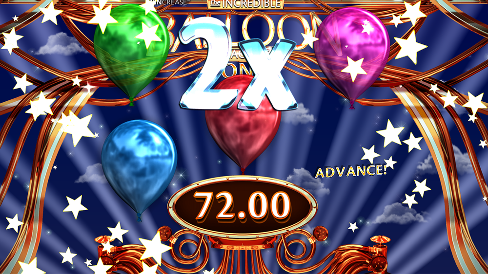 The Incredible Balloon Machine Slot Win