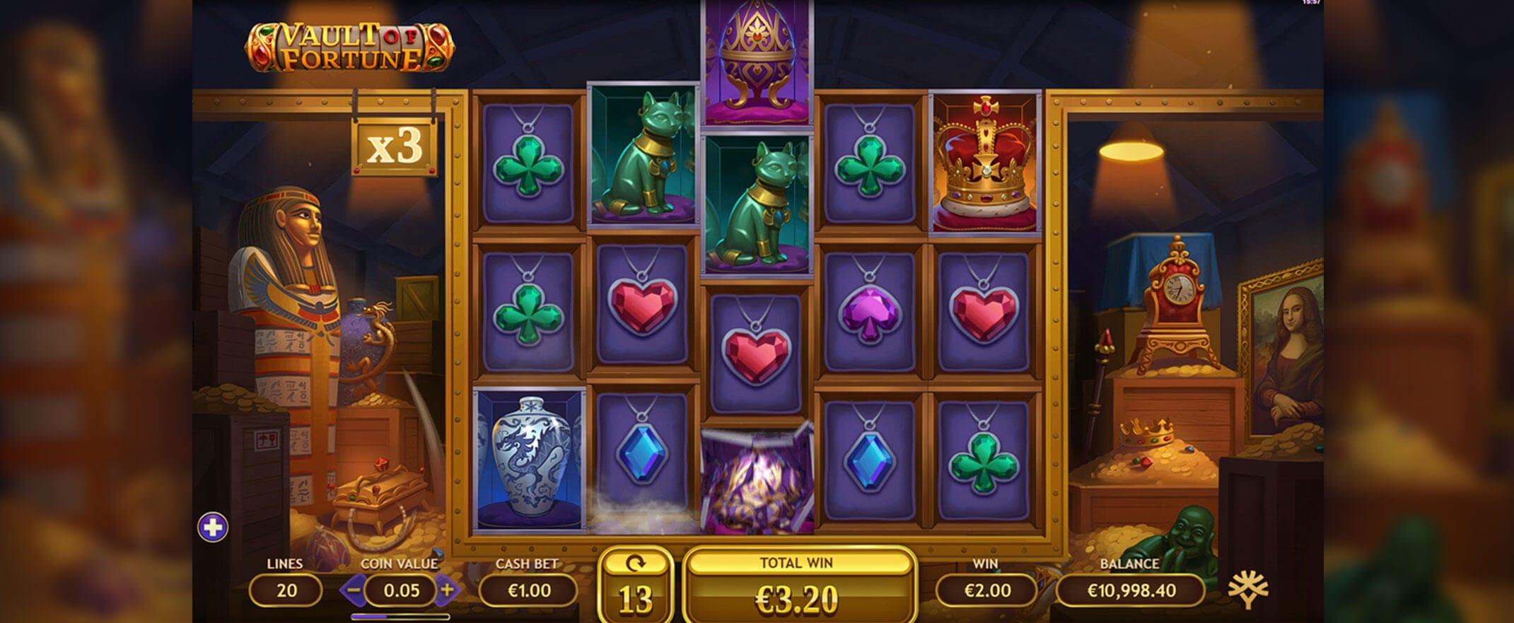 Vault of Fortune Slot Bonus