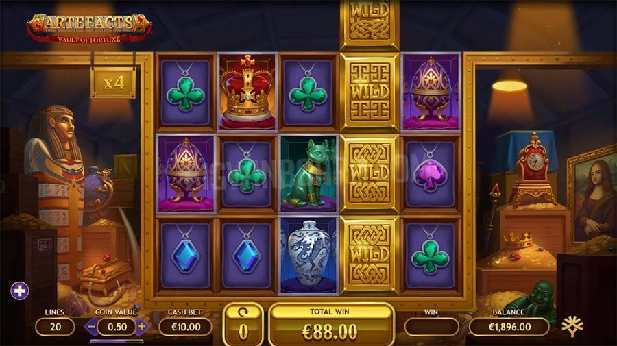 Vault of Fortune Slot Gameplay