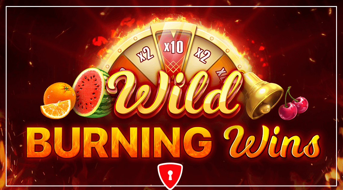 Wild Burning Wins - 5 Lines Casino Game