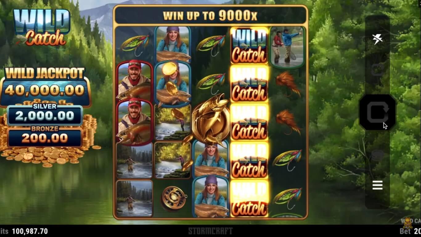 Wild Catch Slot Bonus