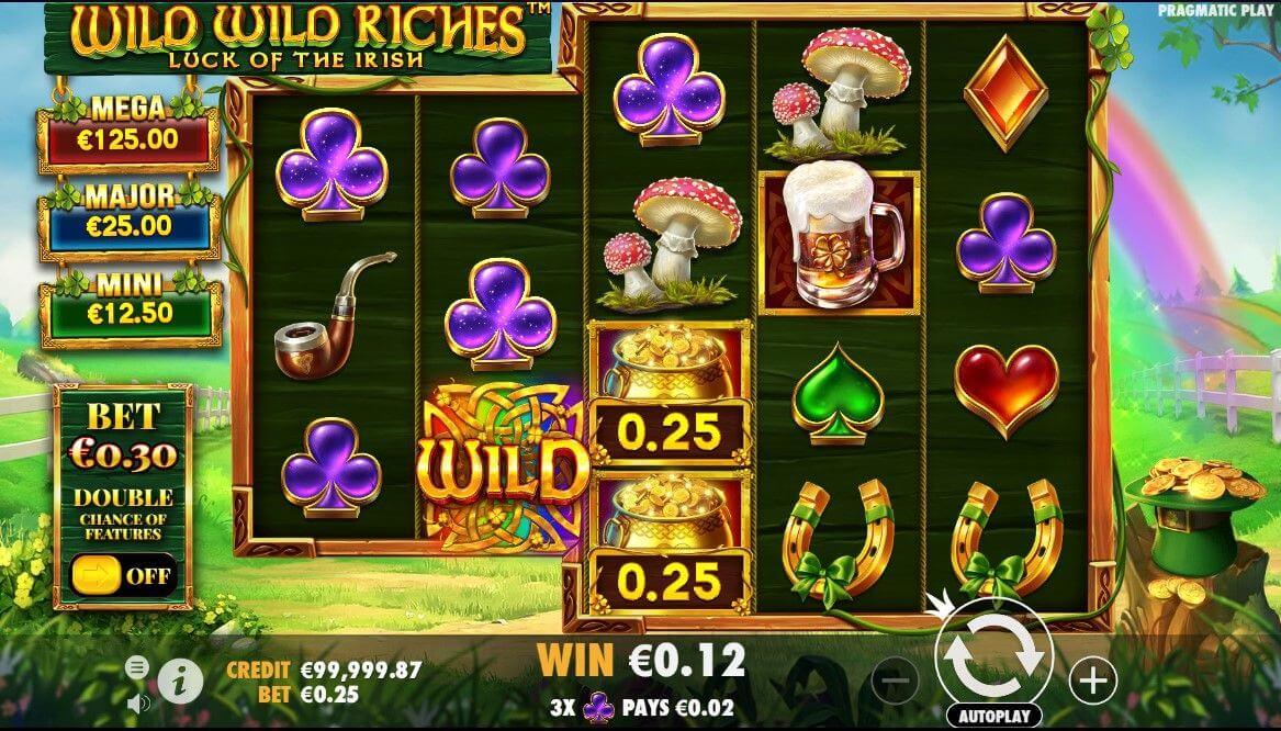 Wild Wild Riches Slot Bonus