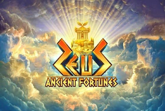 Ancient Fortunes: Zeus Slot Banner