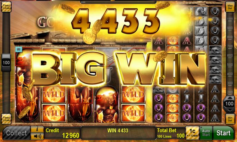 Apollo: God of the Sun Slot Big Win