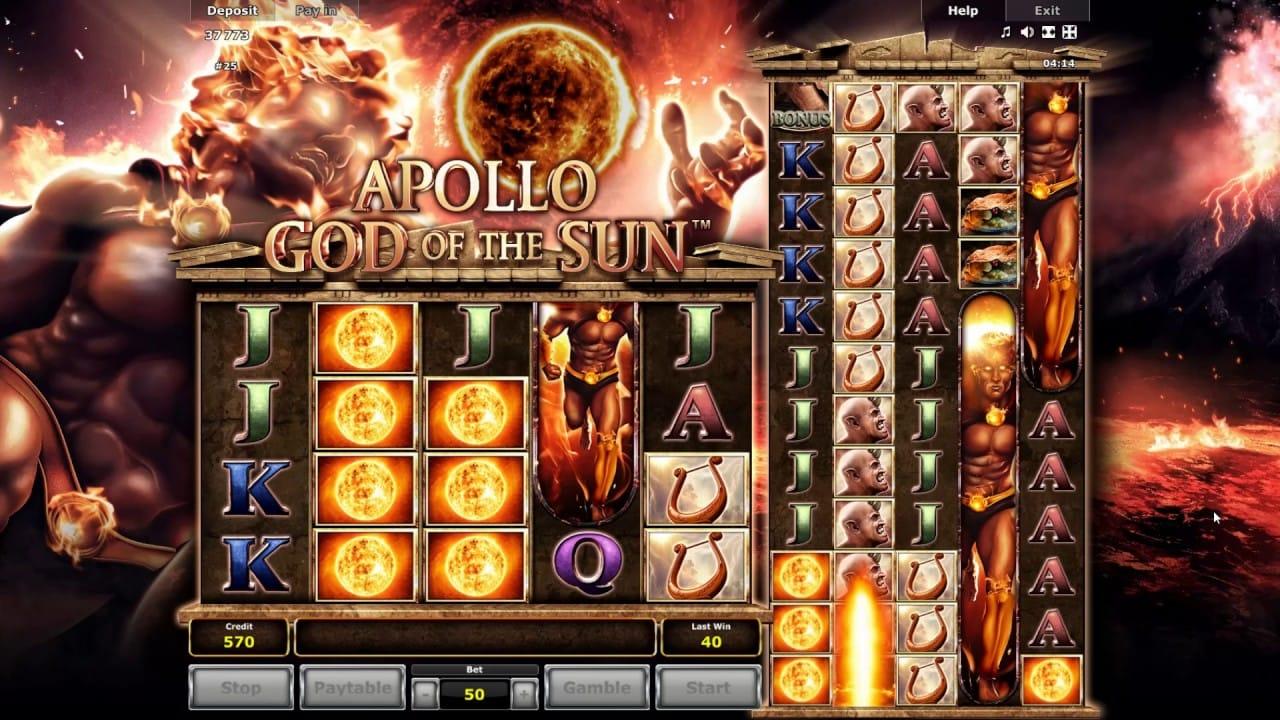 Apollo: God of the Sun Slot Gameplay