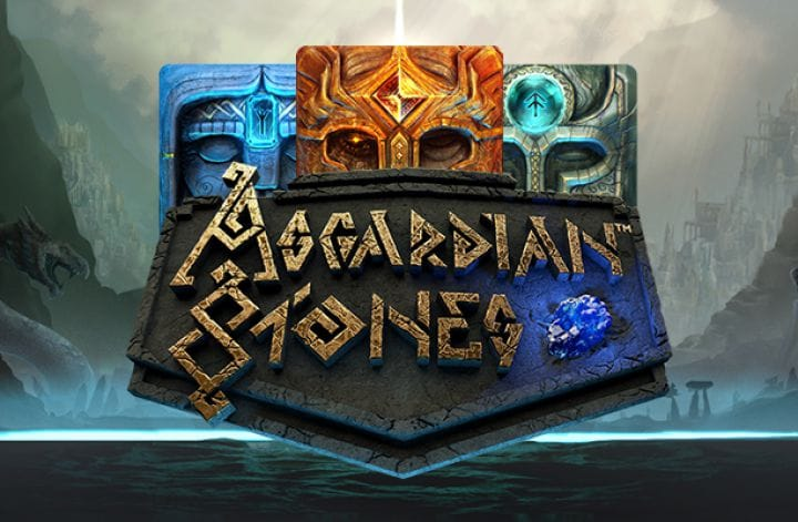 Asgardian Stones slot uk logo