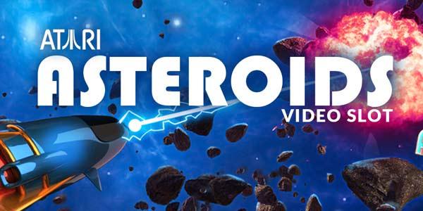 Asteroids Slot Banner
