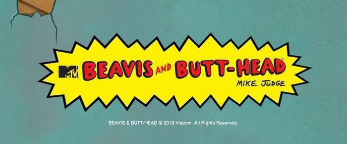 Beavis and Butthead Slot Logo DaisySlots
