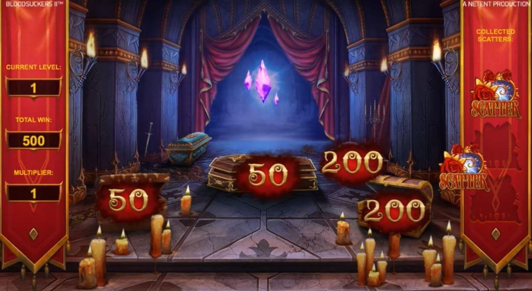Blood Suckers II Slot Bonus