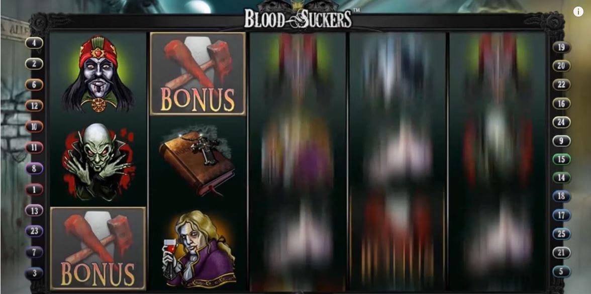 Blood Suckers Slot Gameplay