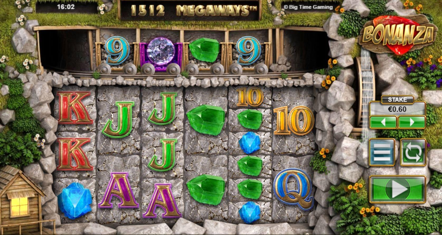 bonanza slots Gameplay