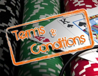 Casino Terms and Conditions Image