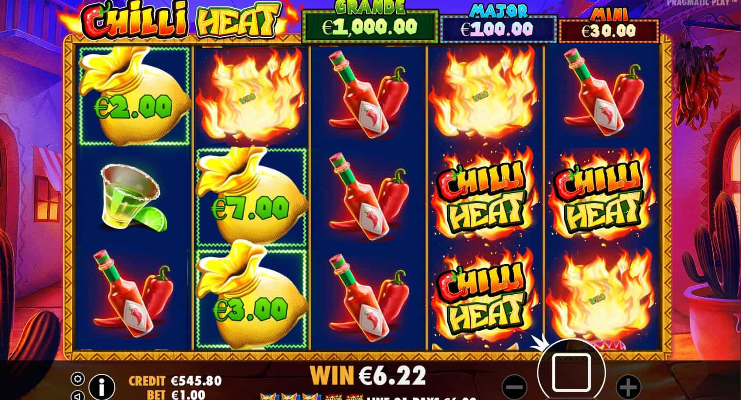 Chilli Heat Online Slots Gameplay