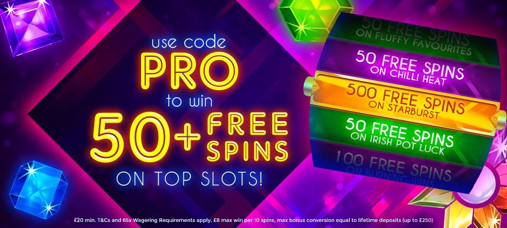 DaisySlots - 50 Free spins