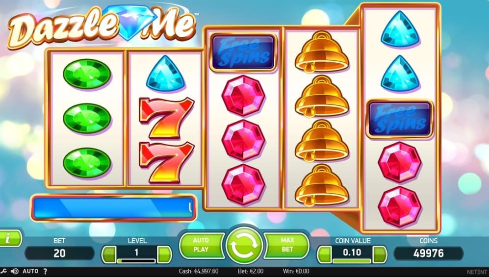 Dazzle Me Slot Gameplay