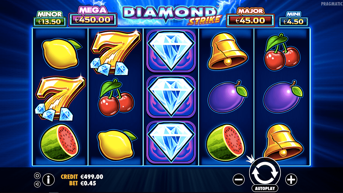 Diamond Strike gameplay casino