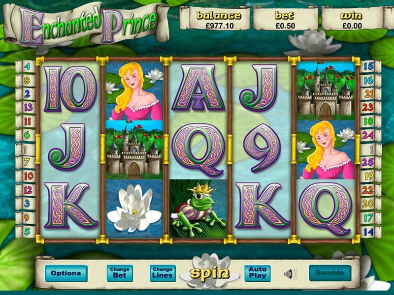 Enchanted Prince gameplay casino