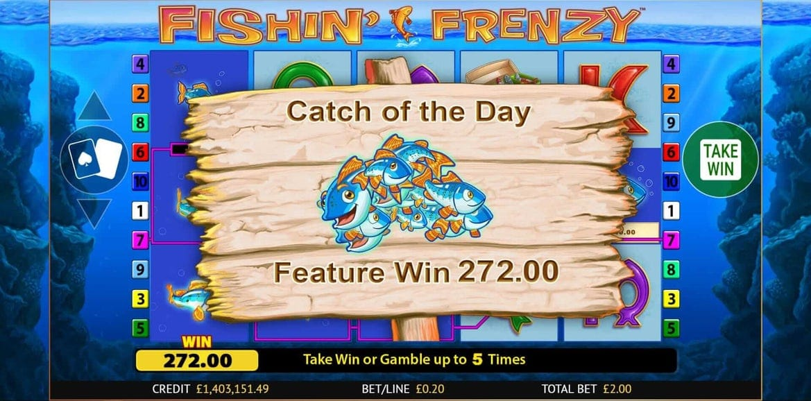 fishin frenzy big win