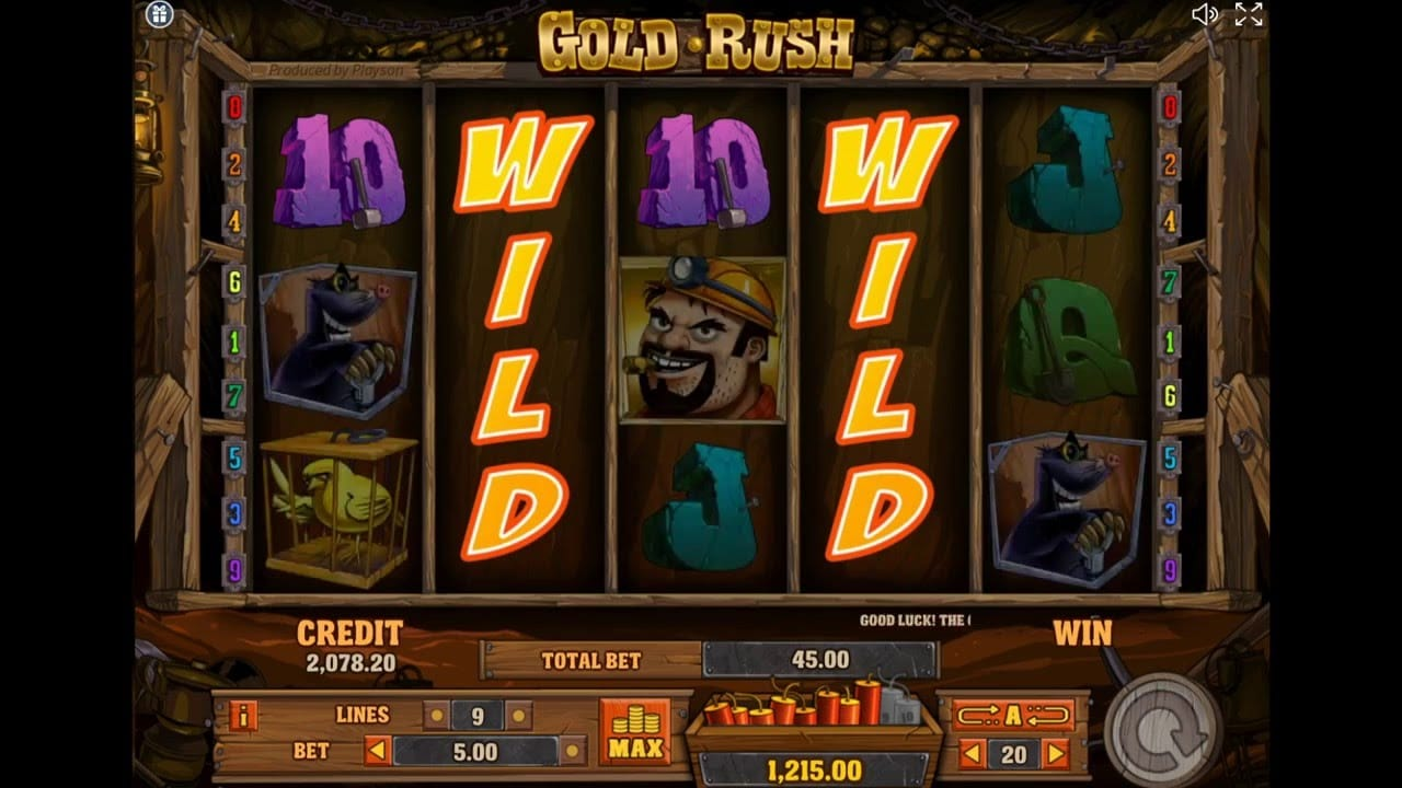 Gold Rush Gameplay Daisy Slots