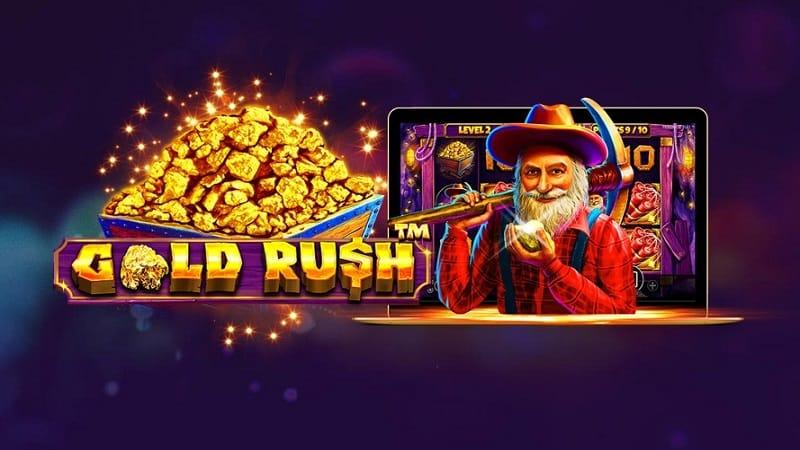 Gold Rush Slot Game Logo