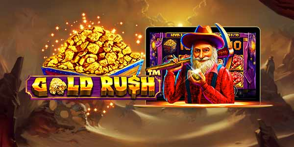 Gold Rush Slot Game Logo