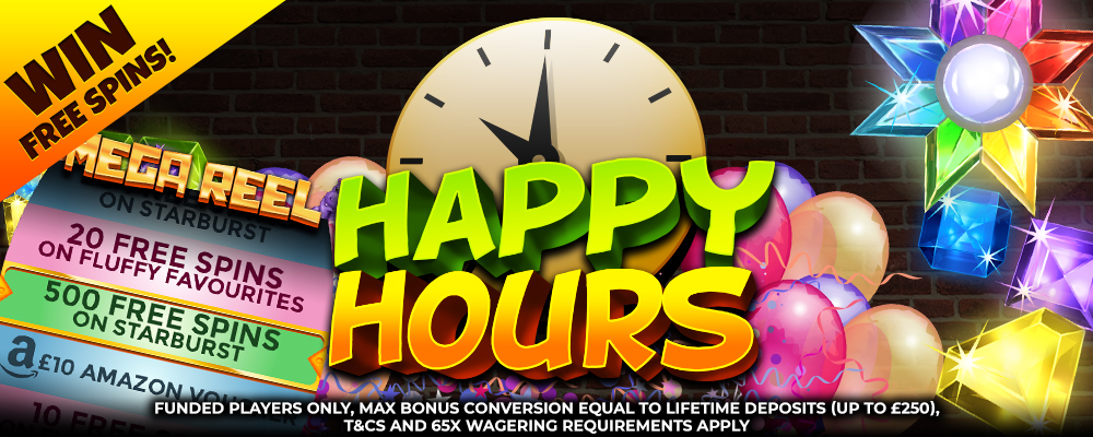 happyhour - offer - DaisySlots
