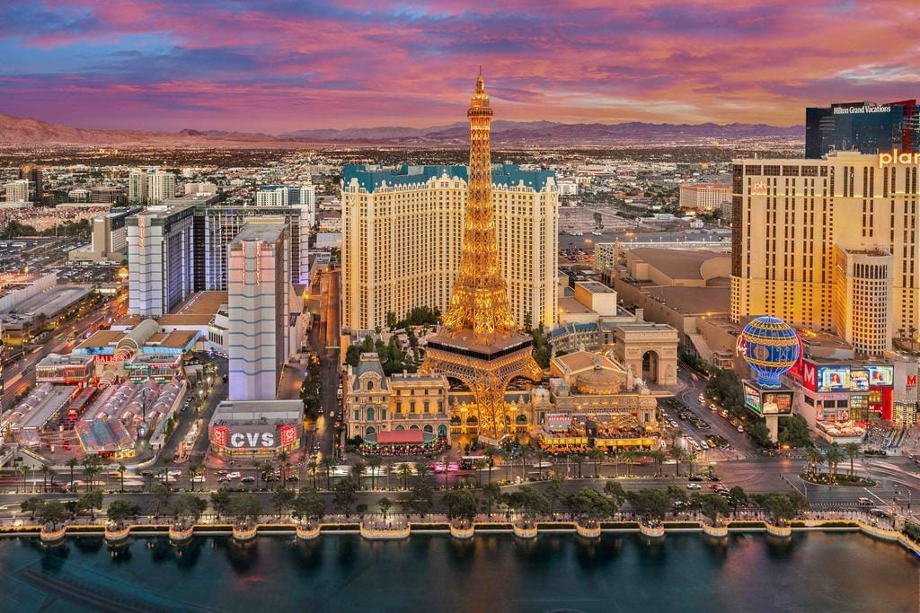 Top Gambling Destinations - Las Vegas