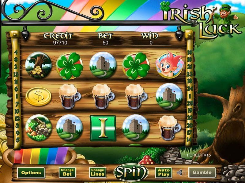 Irish Luck Jackpot Slot Image