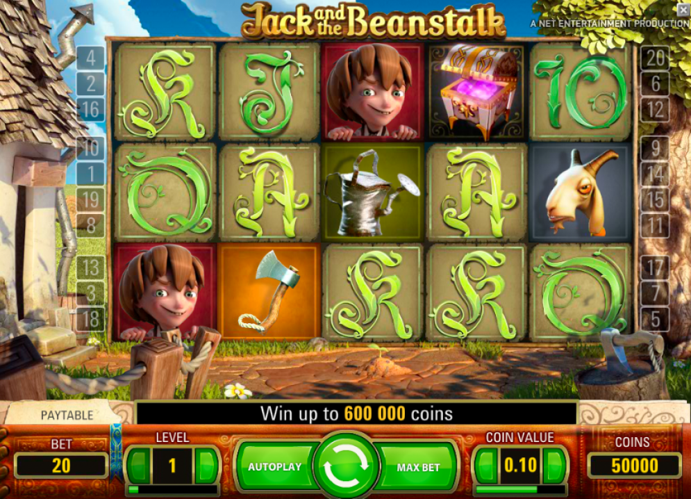 jack and the beanstalk daisy slots