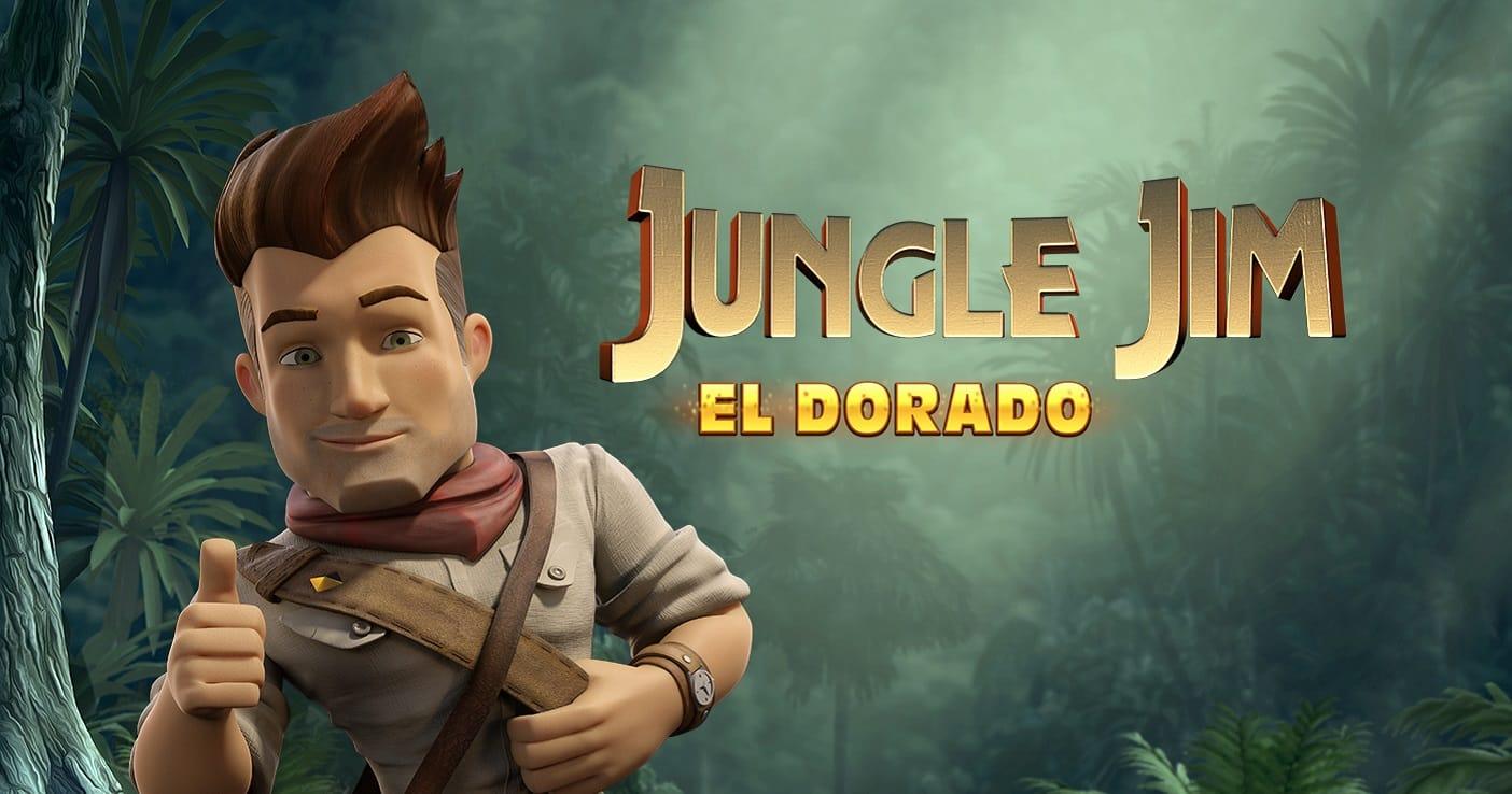 Jungle Jim - El Dorado slot logo