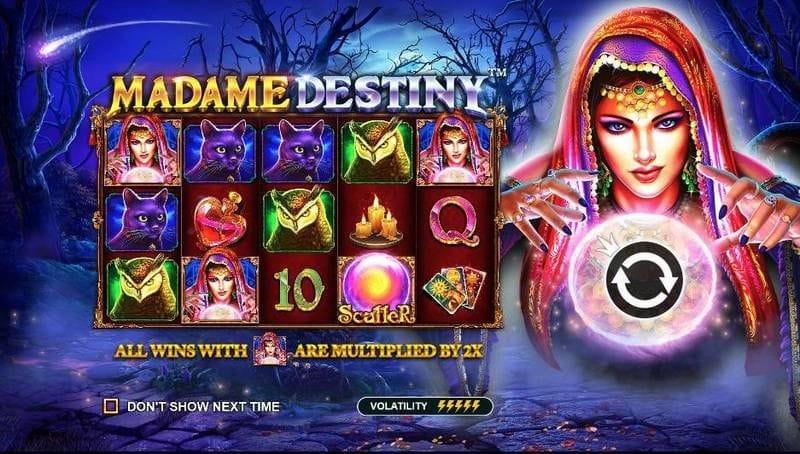 madame destiny features mobile