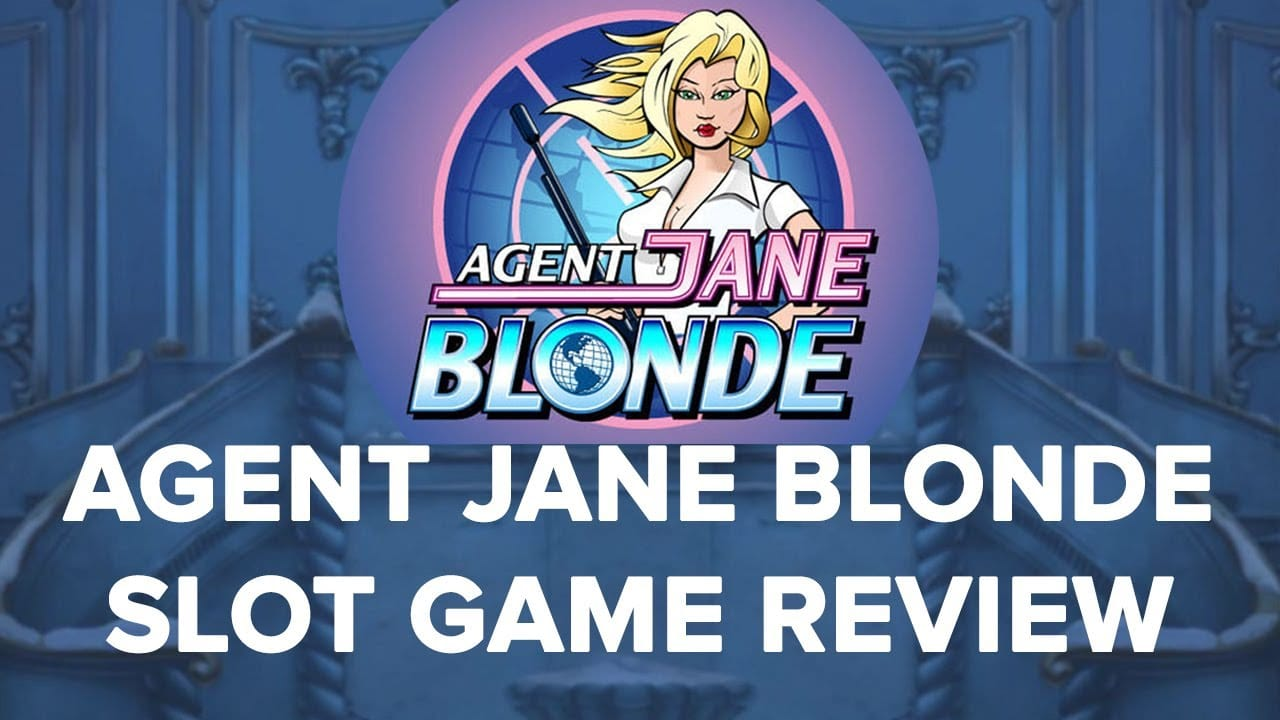 Agent Jane Blonde Slot Cover