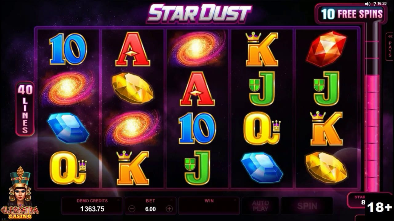 Stardust Online Slot Gameplay