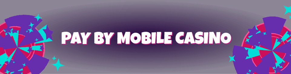 Deposit options you can access on a Mobile Casino