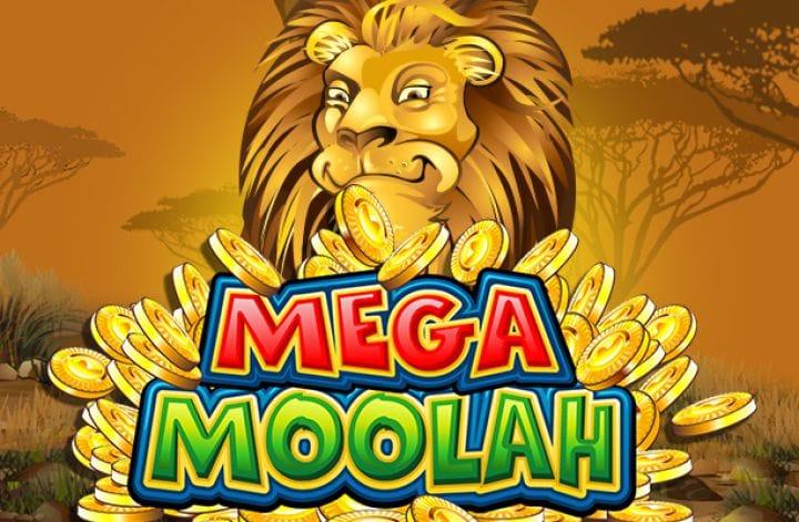 Mega Moolah logo slot game
