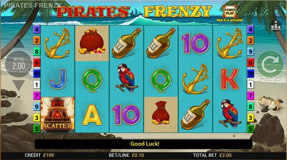 Pirates' Frenzy UK Slots