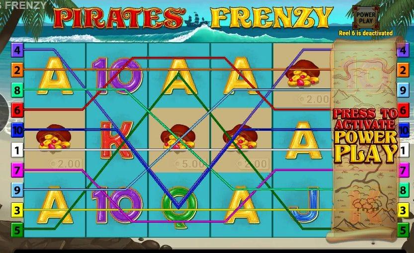 Pirates' Frenzy Slot Gameplay