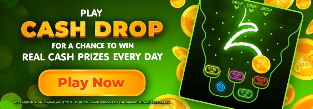 Cashdrop promotion Daisy Slots