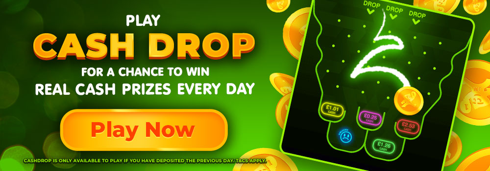 cashdrop Daisy Slots Promotional Offer