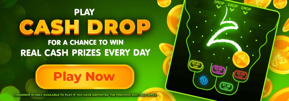 CashDrop - DaisySlots - Promotion