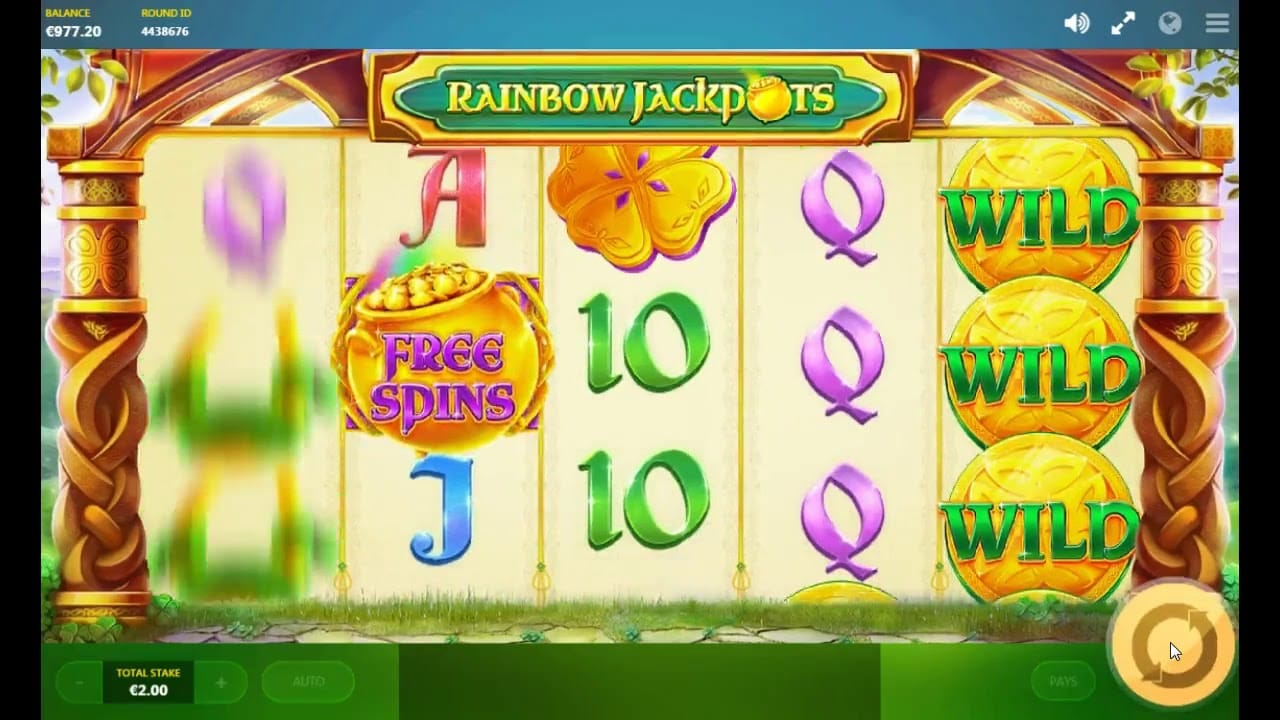 Rainbow Jackpots Casino Game